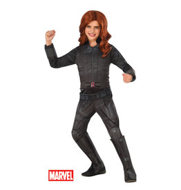Black Widow Deluxe Costume - Girls