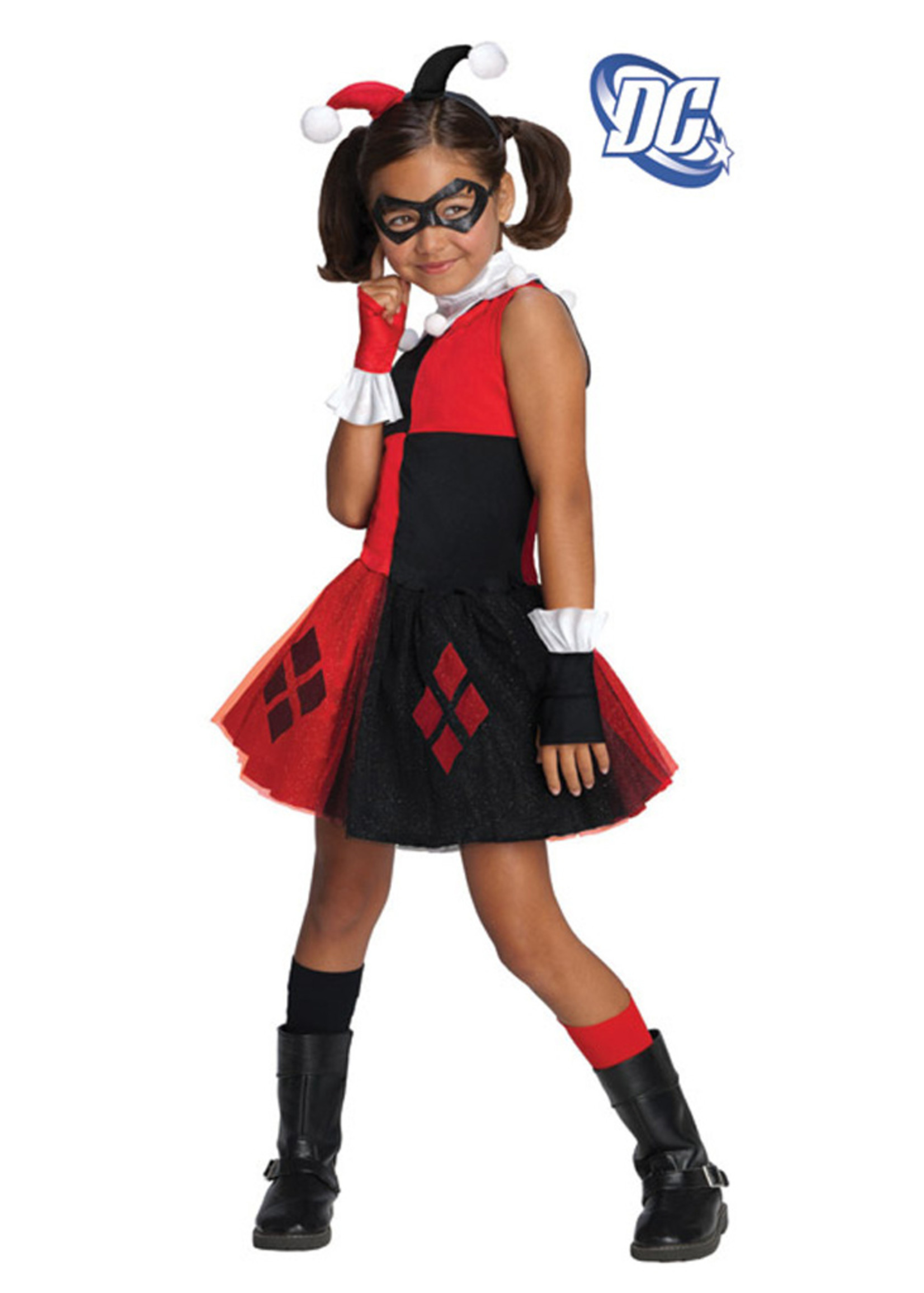 Harley Quinn Tutu Costume - Girls