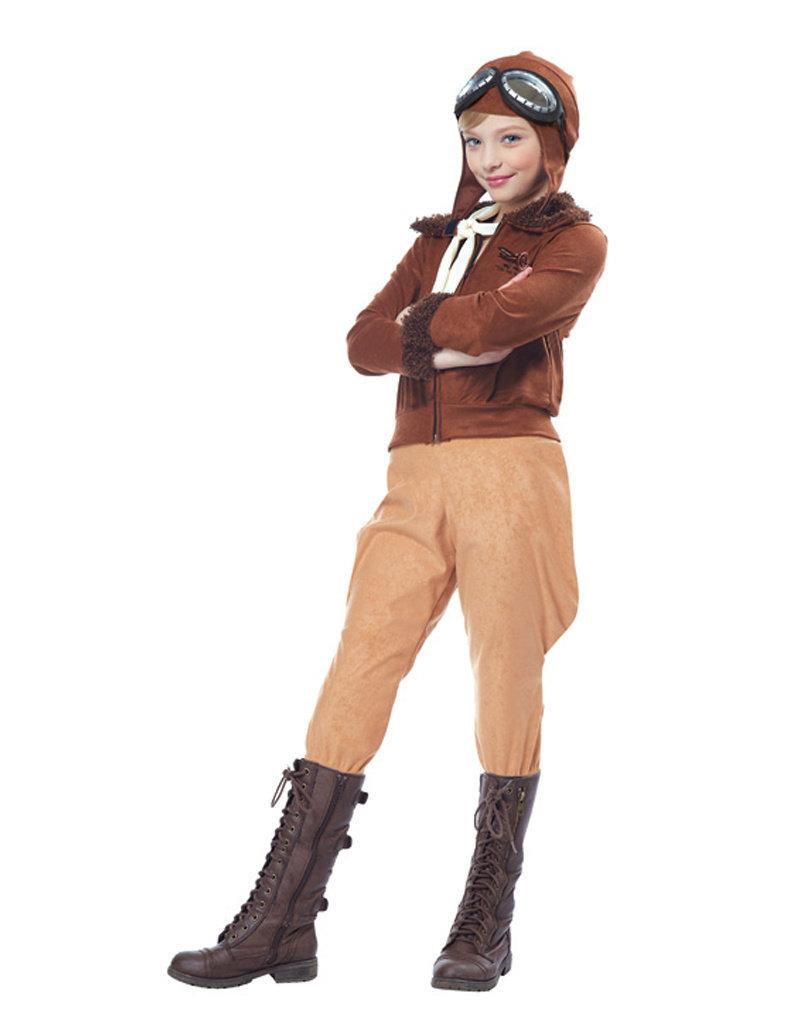 Amelia Earhart Costume - Girls