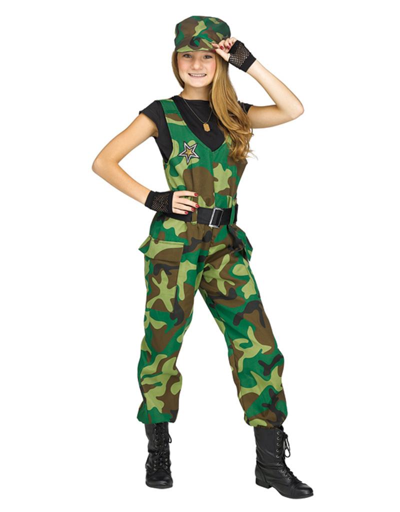Camo Cutie Costume - Girls