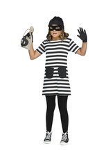 Burglar Costume - Girls