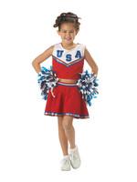 Patriotic Cheerleader Costume - Girls