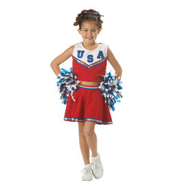 Patriotic Cheerleader Costume - Girls
