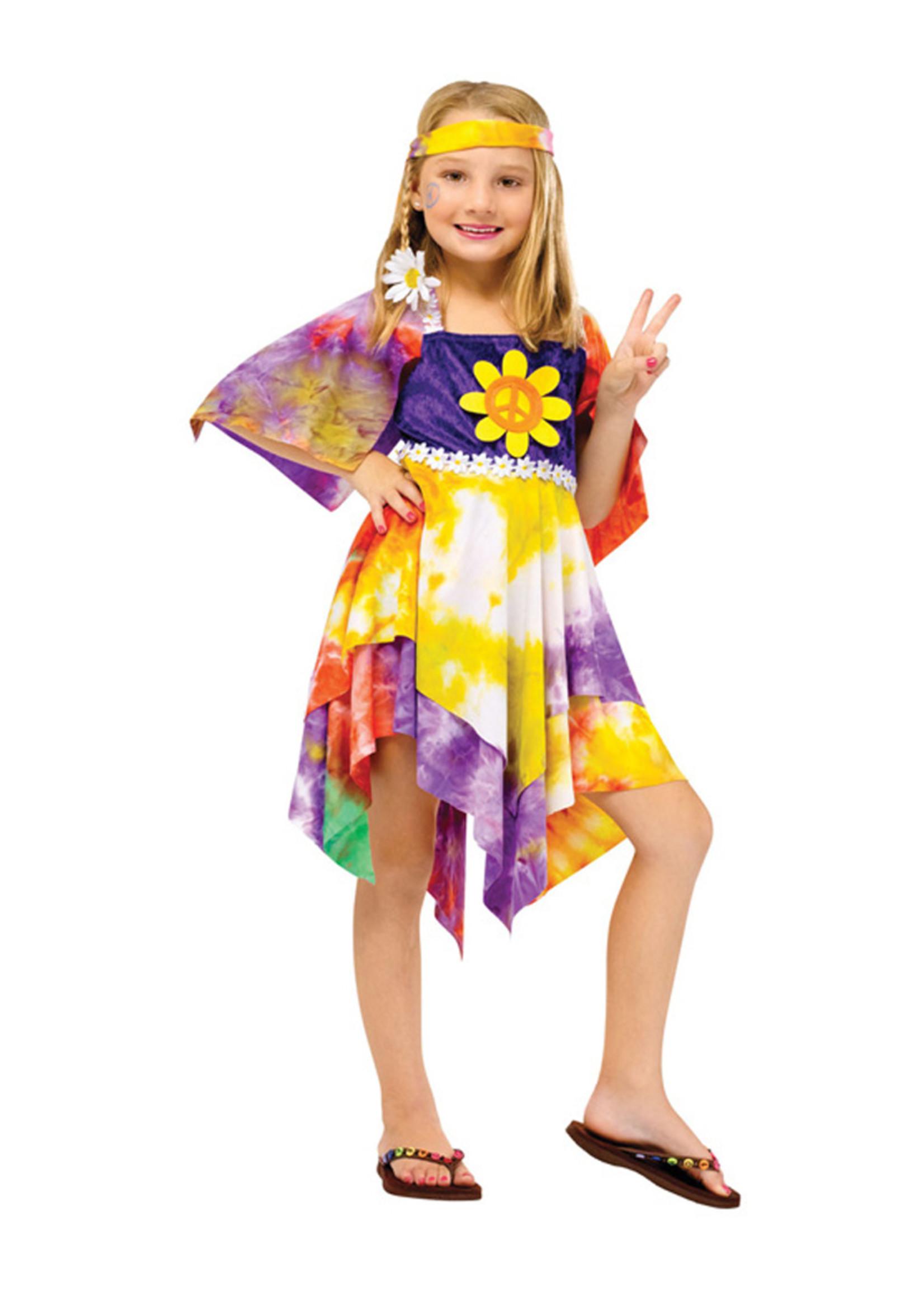 Daisy Hippie Costume - Girls