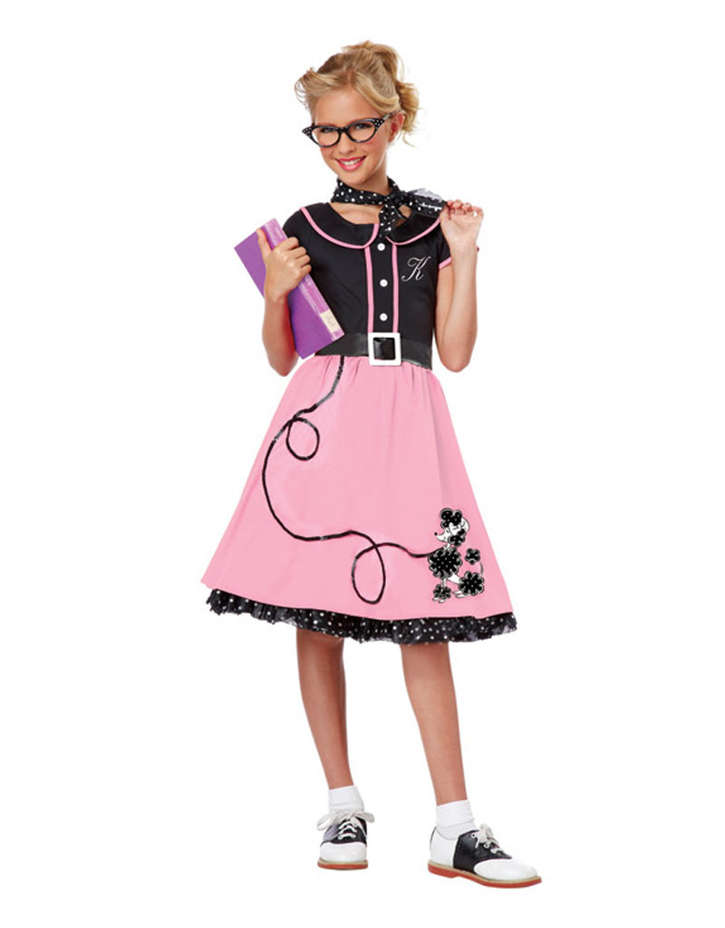50's Sweetheart Costume - Girls
