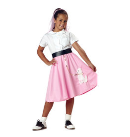 Poodle Skirt Costume - Girls
