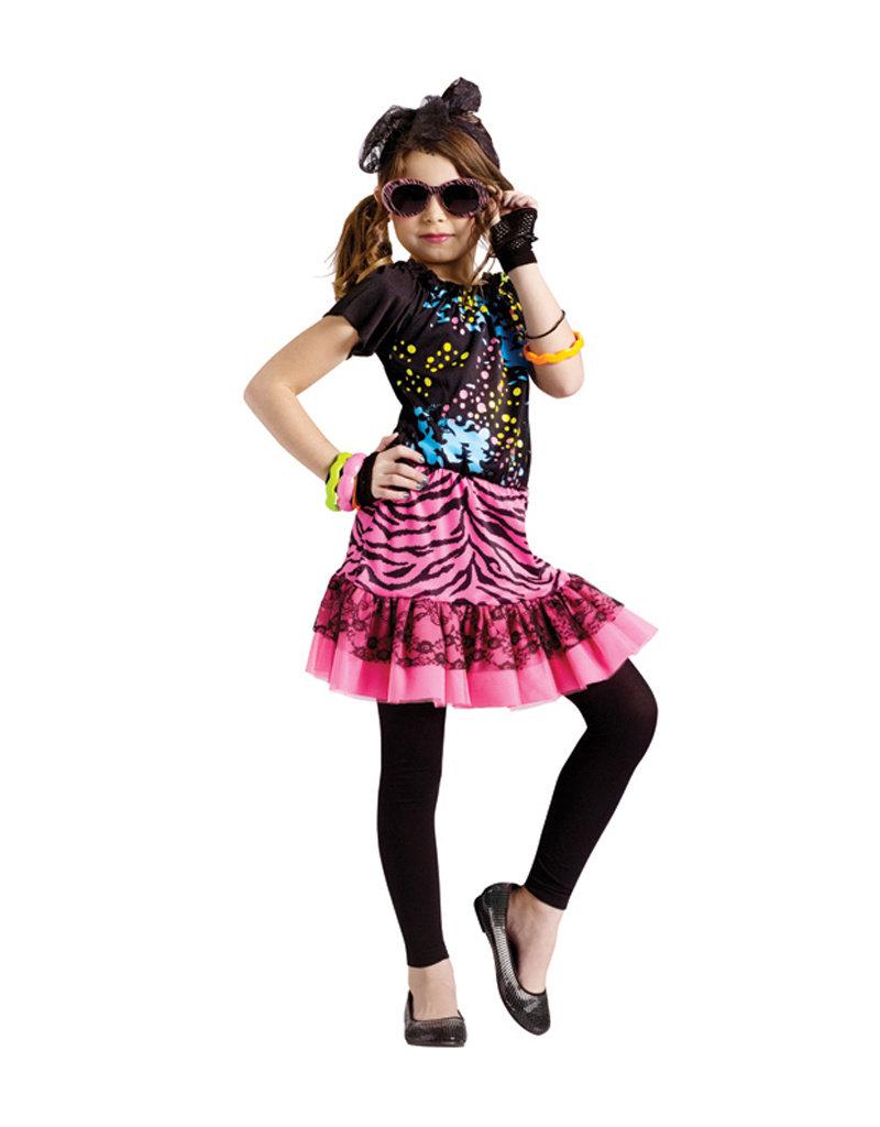 80's Pop Child Costume - Girls