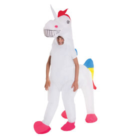 Giant Inflatable Unicorn Costume - Girls