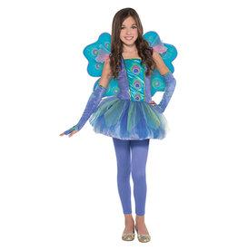 Peacock Princess Costume - Girls