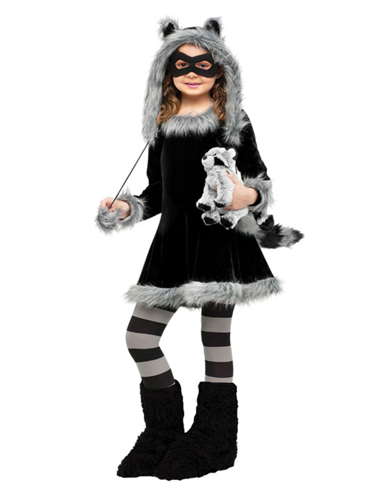 Sweet Raccoon Costume - Girls