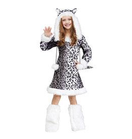 Snow Leopard Costume - Girls