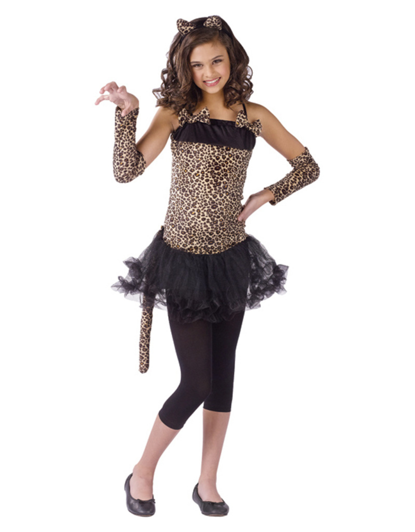 Wild Cat Costume - Girls