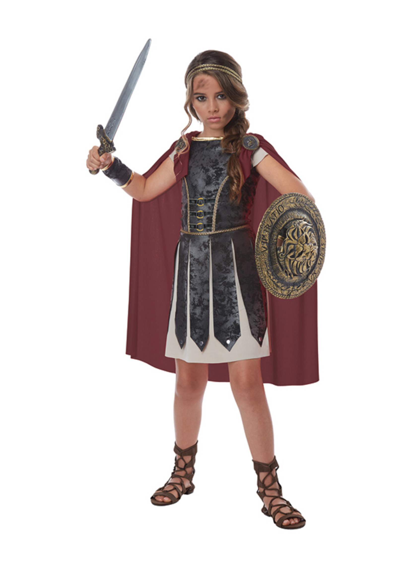 Fearless Gladiator Costume - Girls