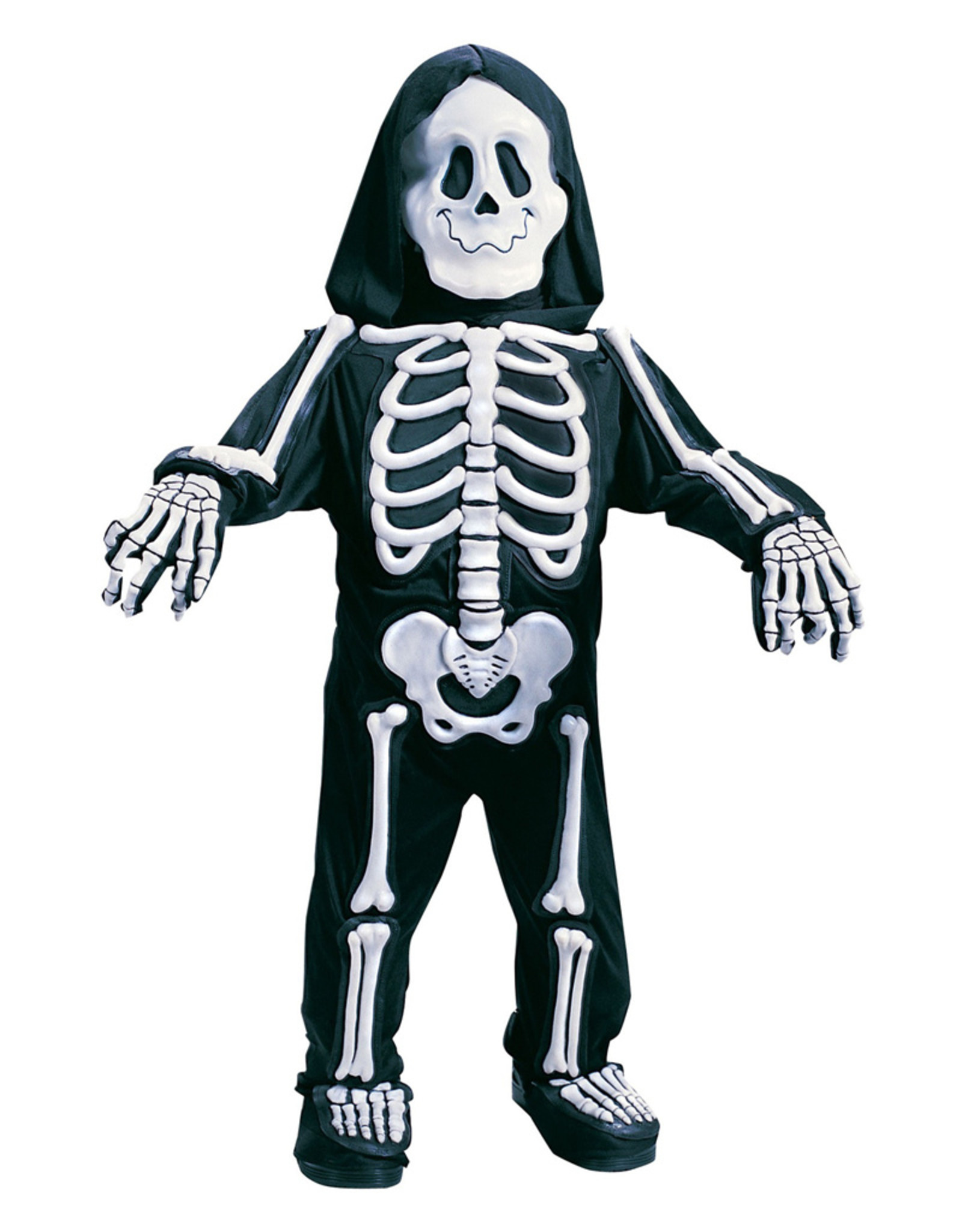 Skelebones White Costume - Toddler