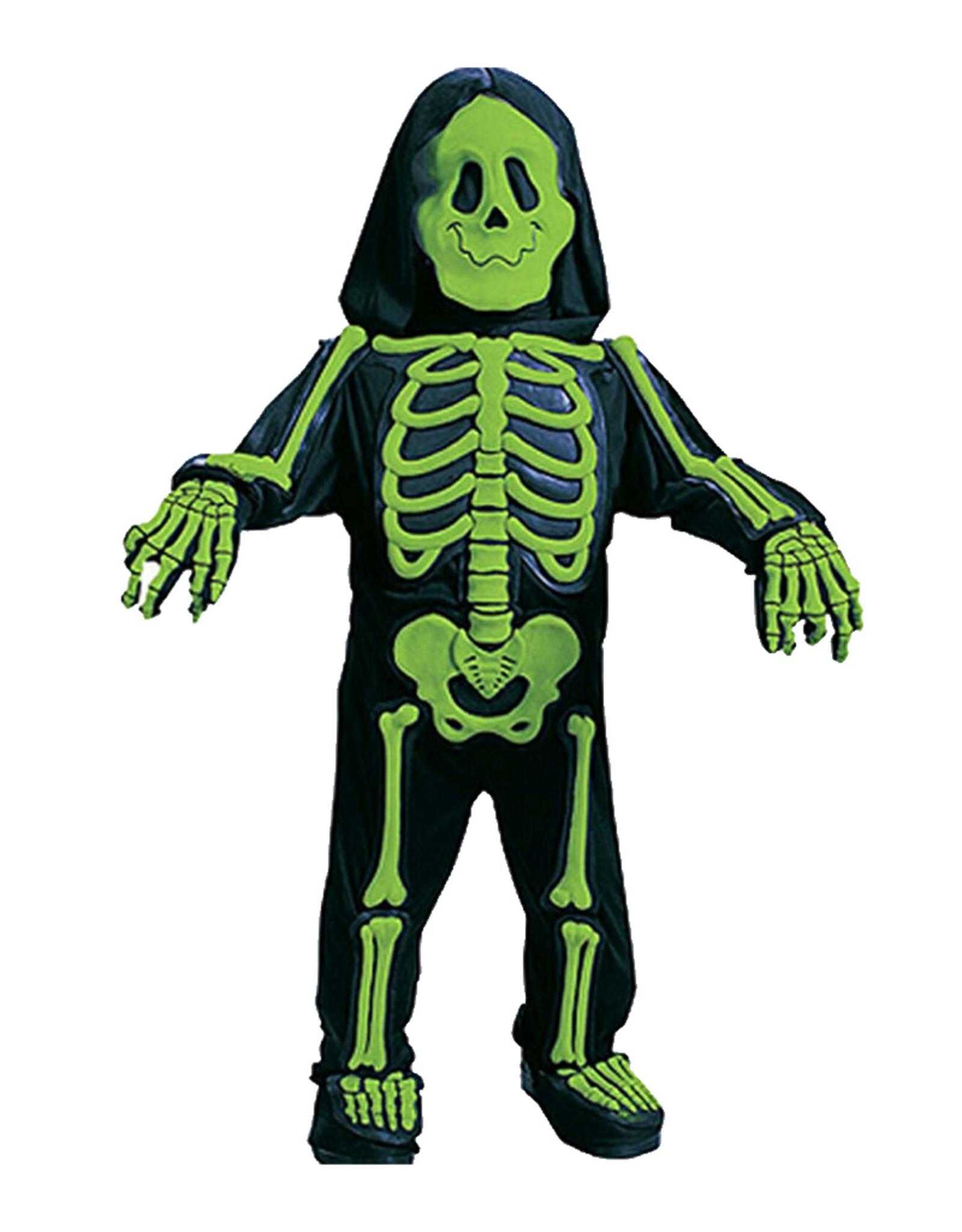 FUN WORLD Skelebones Green  Costume - Toddler