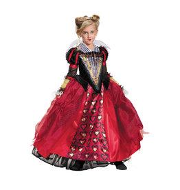 Red Queen Deluxe Costume - Girls