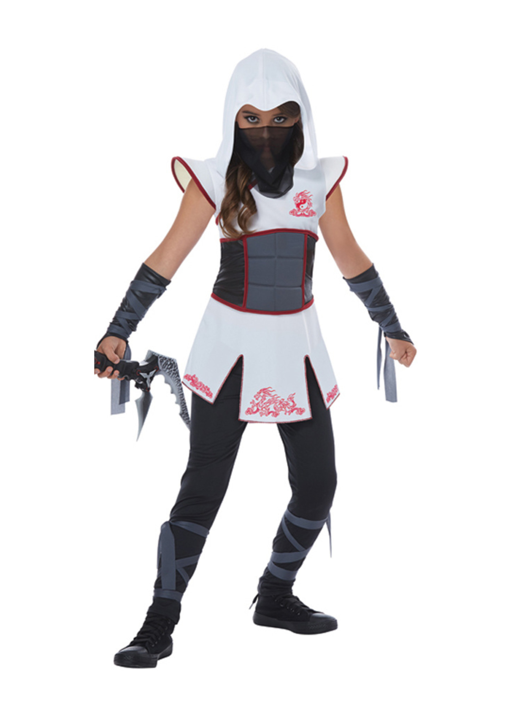 Fearless Ninja Costume - Girls