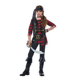 Renegade Pirate Costume - Girls