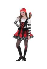 Crossbone Cutie Costume - Girls