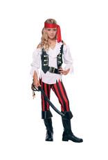 Posh Pirate Costume - Girls