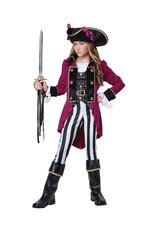 Fashion Pirate Costume - Girls