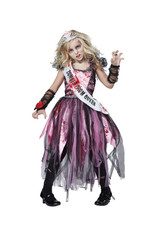 Zombie Prom Queen Costume - Girls