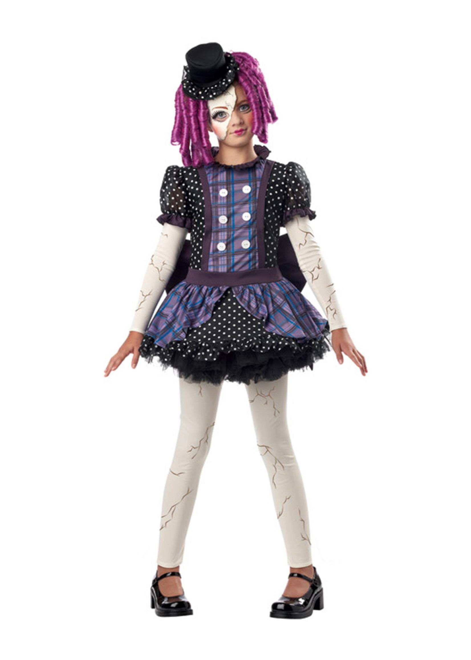 Broken Doll Costume - Girls