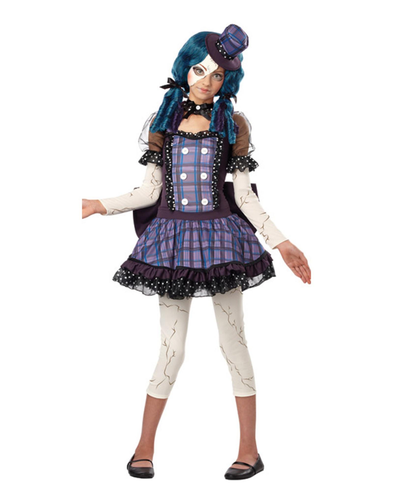 Broken Doll Costume - Tween