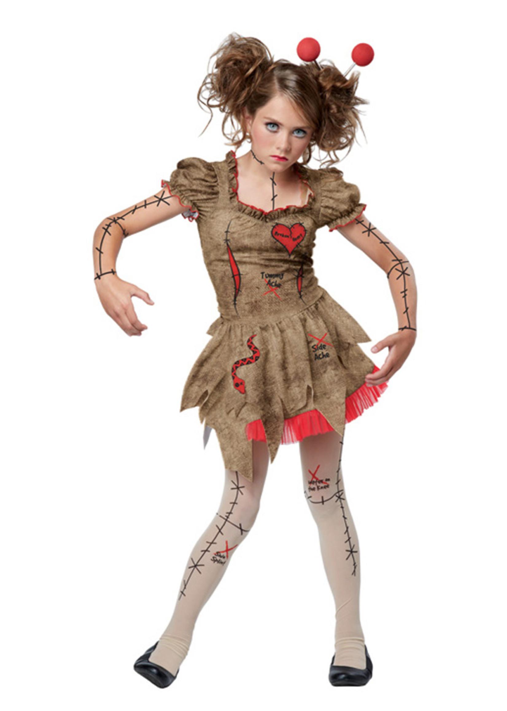 Voodoo Dolly Costume - Girls