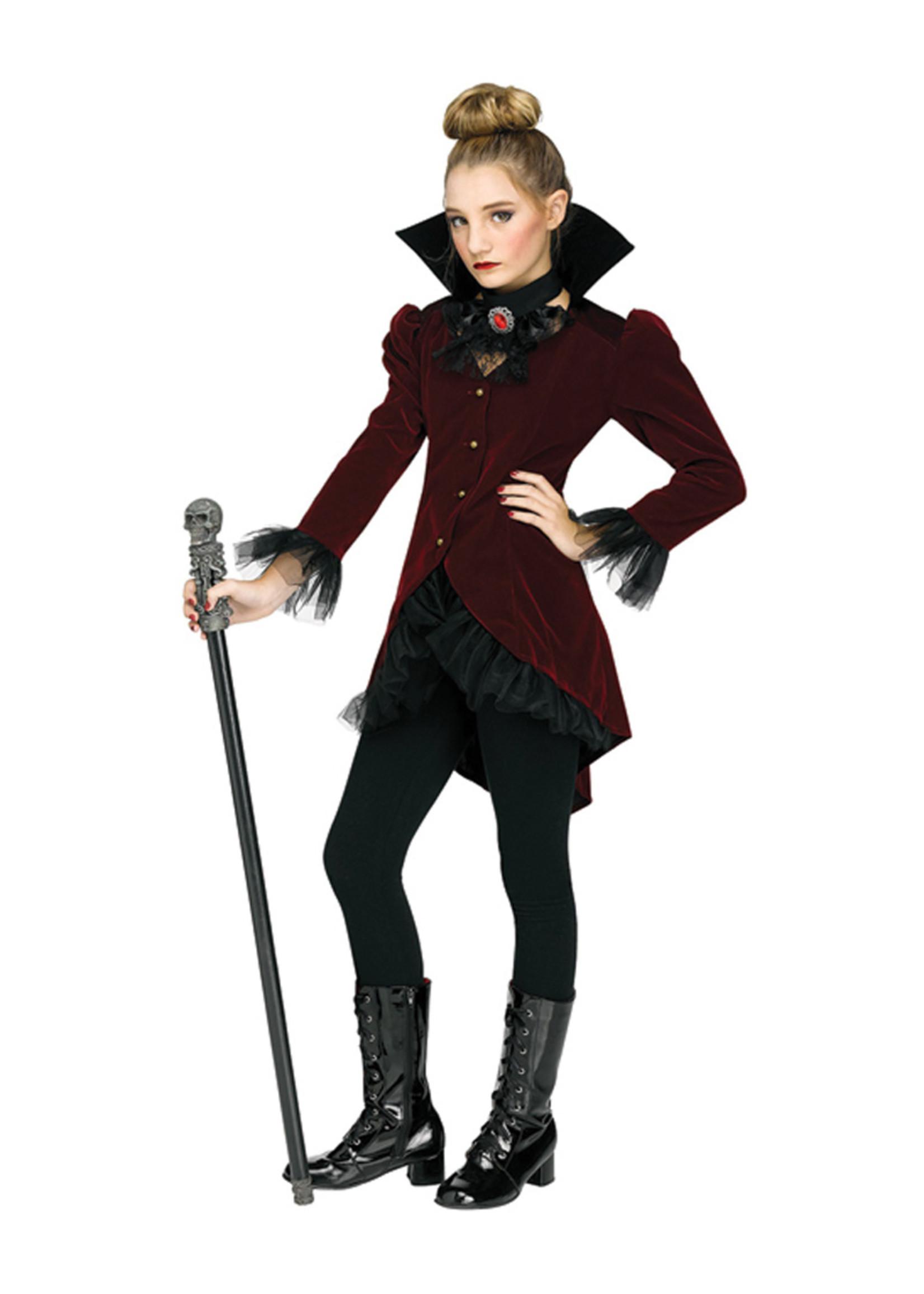 Vampire Dolly Costume - Girls