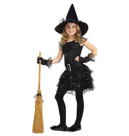 Glitter Witch Costume - Girls