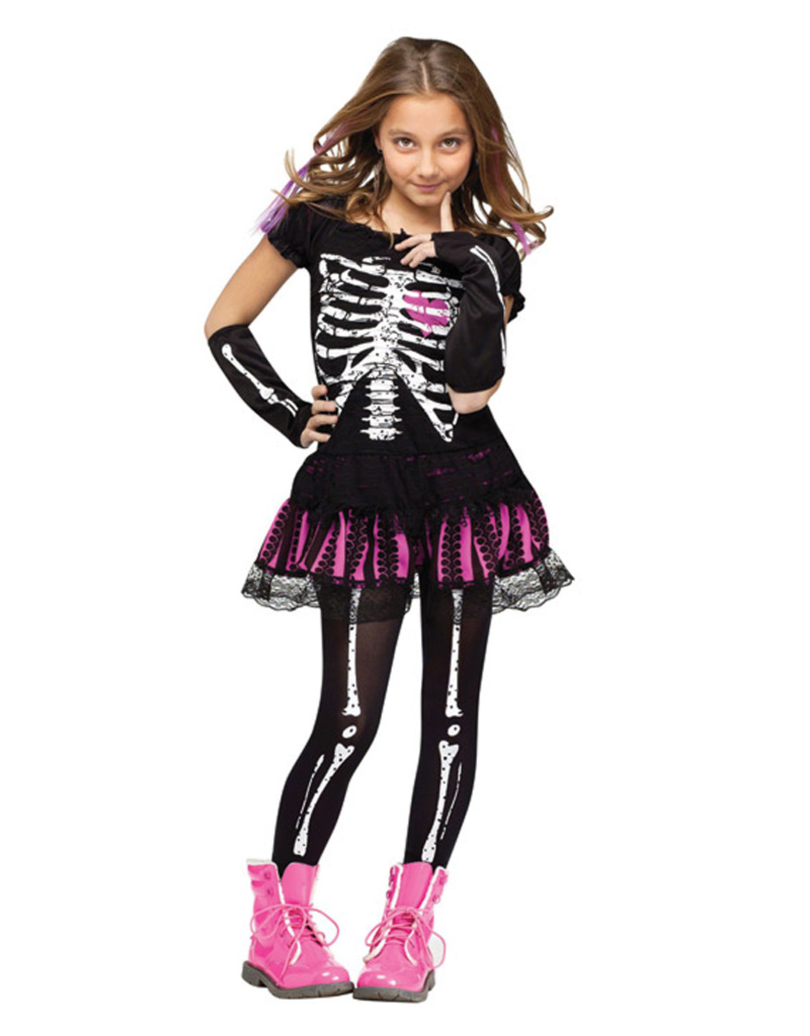 Sally Skelly Costume - Girls