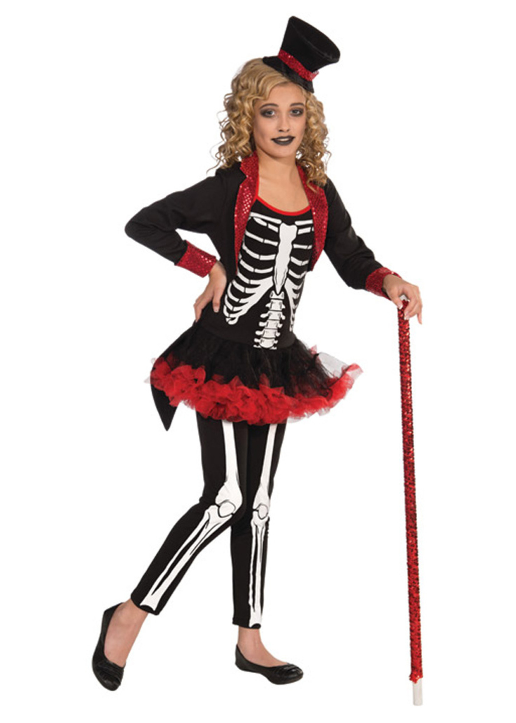 Miss Bone Jangles Costume - Girls