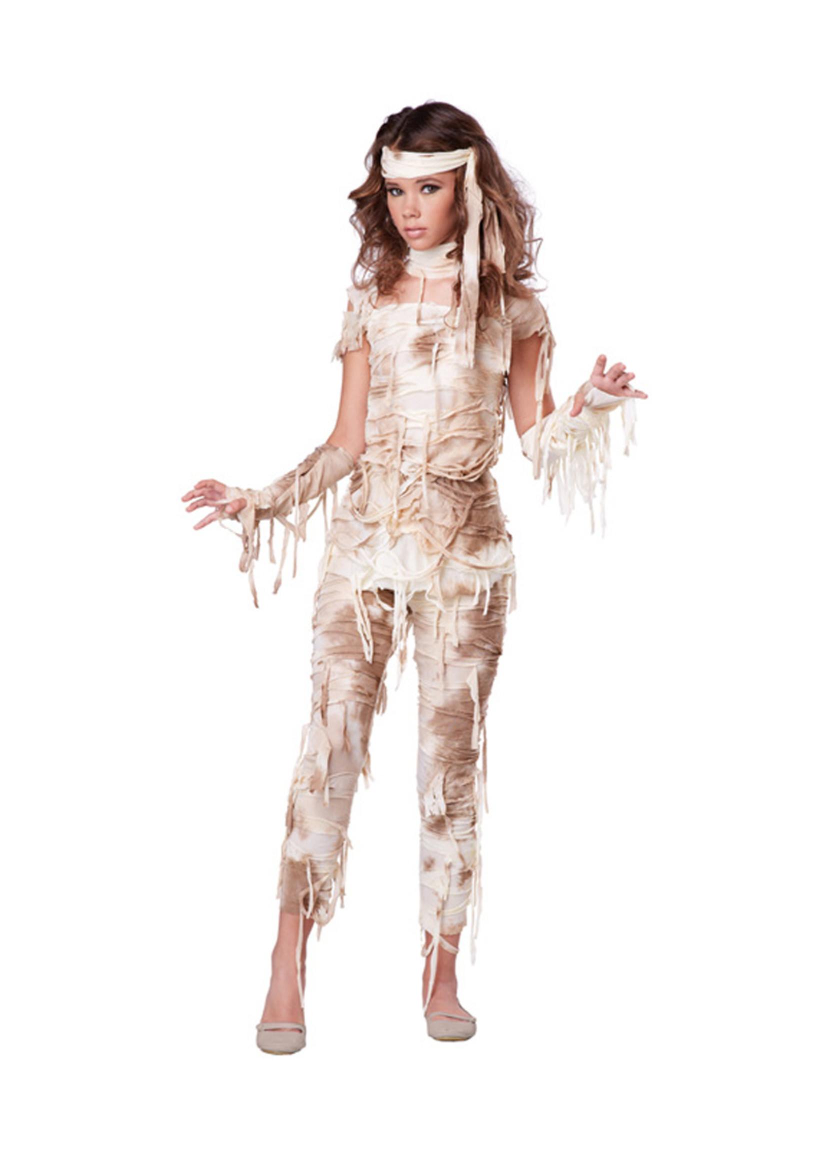 Mysterious Mummy Costume - Tween