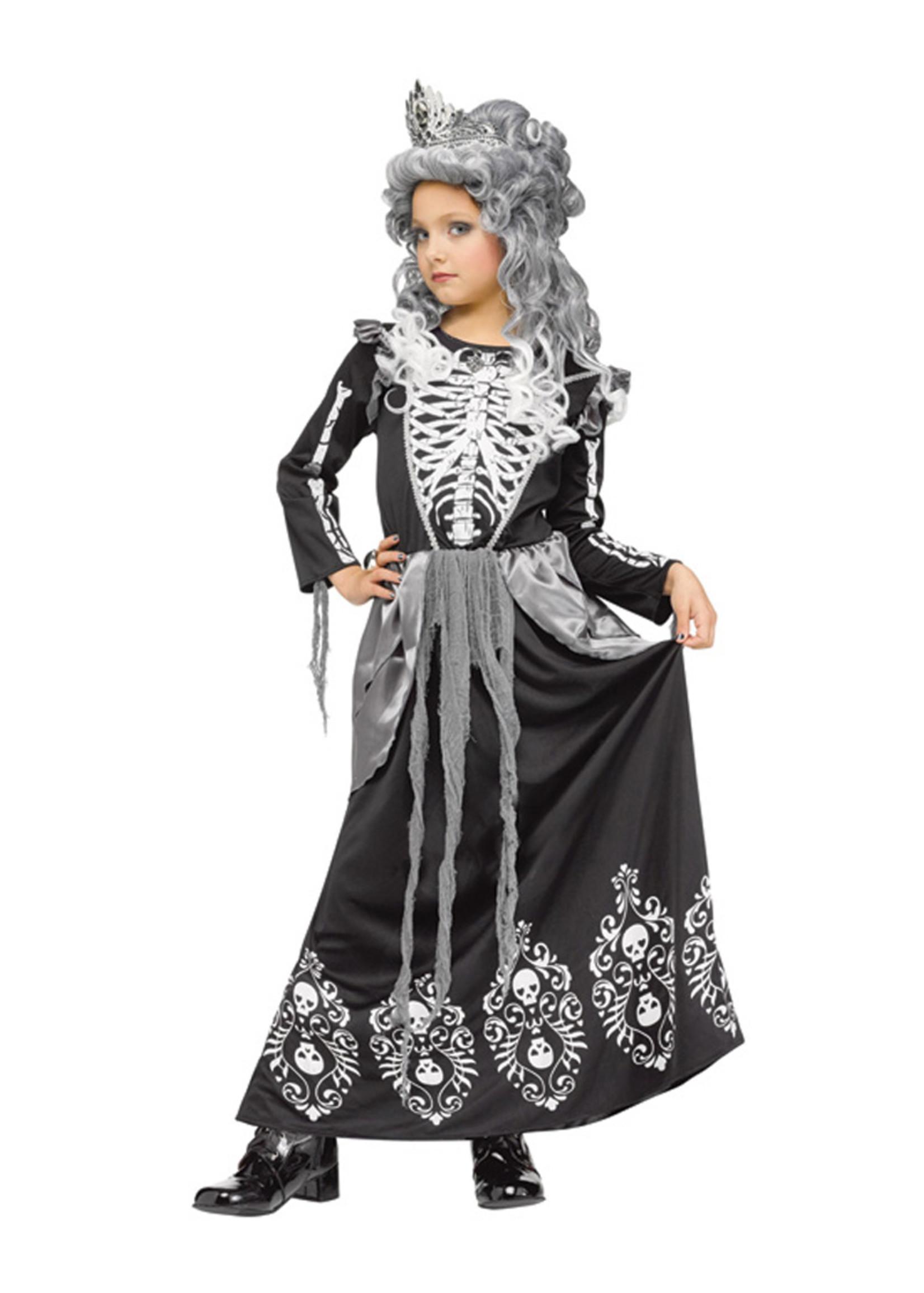Skeleton Queen Costume - Girls
