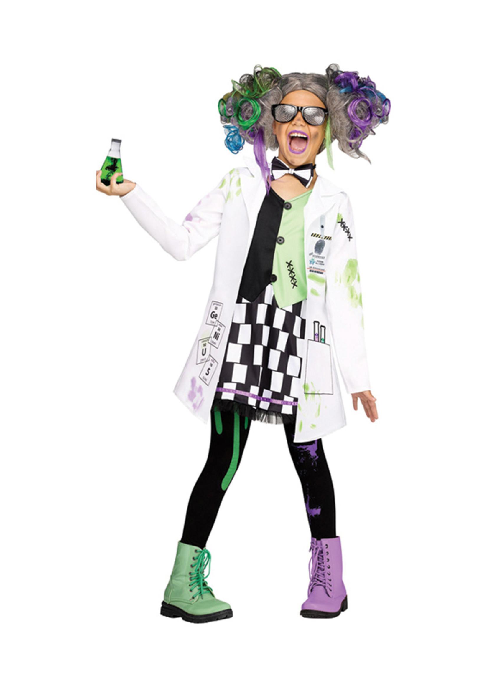 Mad Scientist Costume - Girls