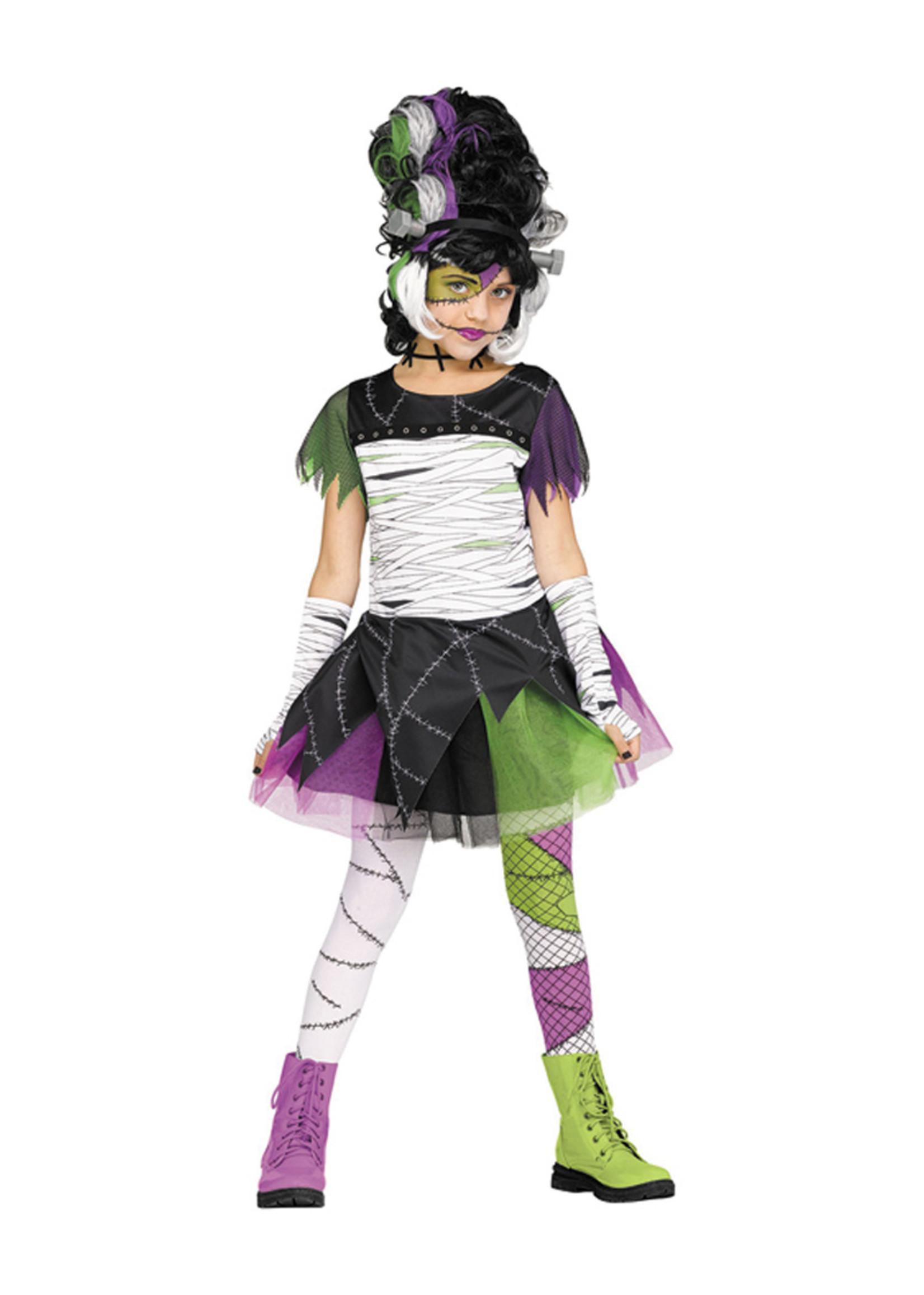 Monster Bride Costume - Girls