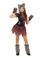 FUN WORLD Wild Wolfie Costume - Girls