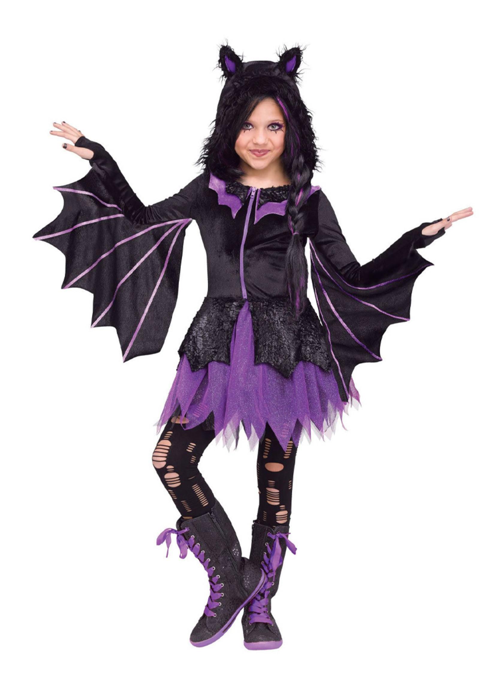 Night Flyer Costume - Girls