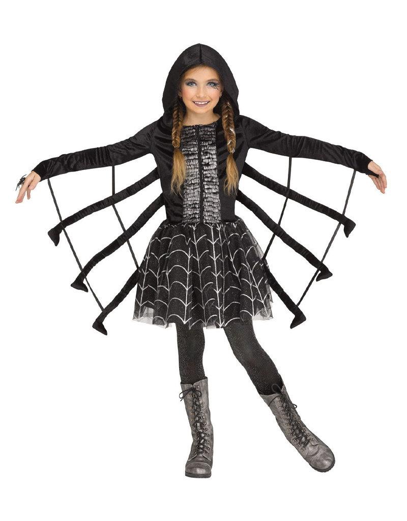 Sparkling Spider Costume - Girls