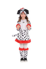 Dotted Doggy Costume - Girls