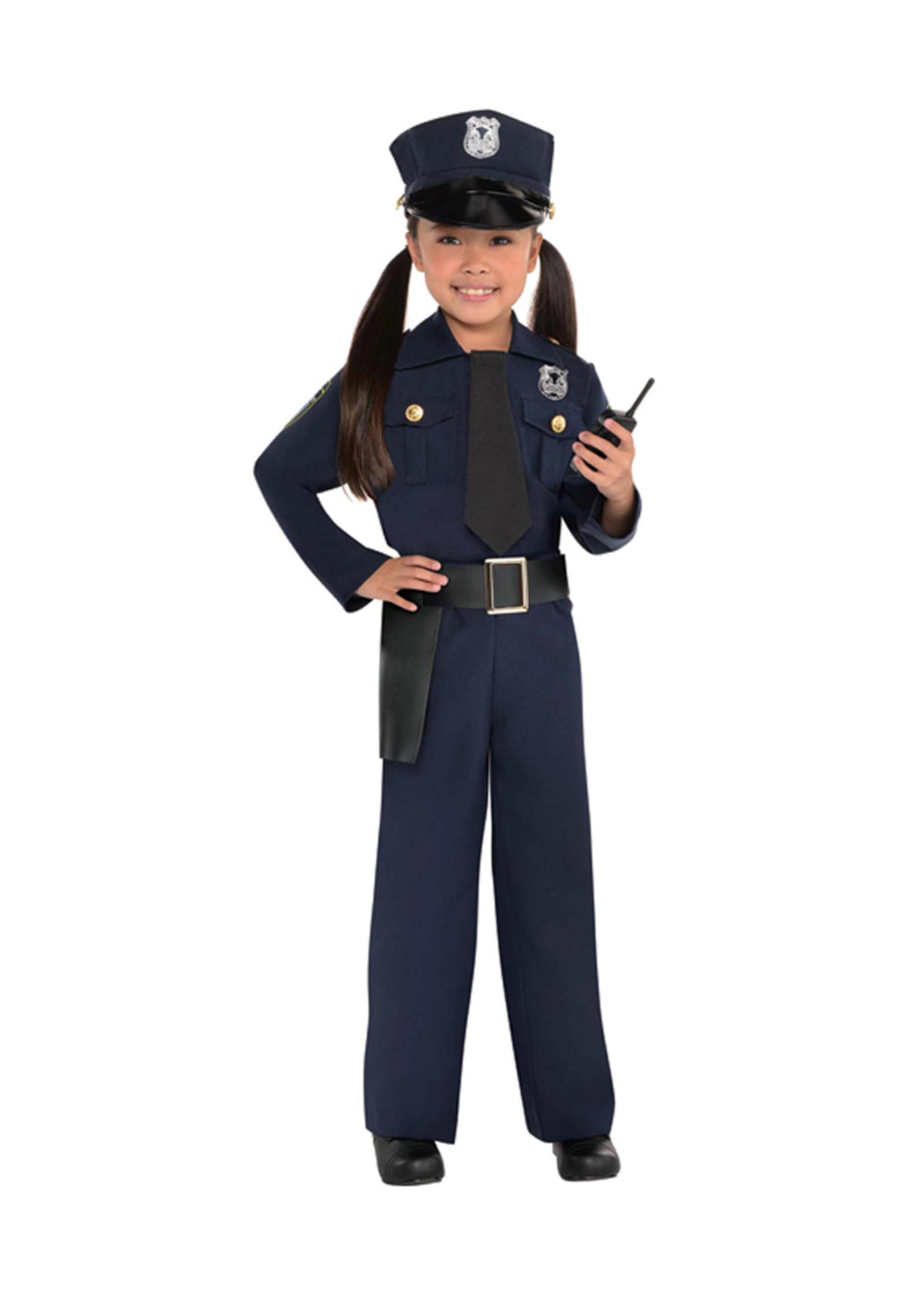 Police Officer Costume - Girls