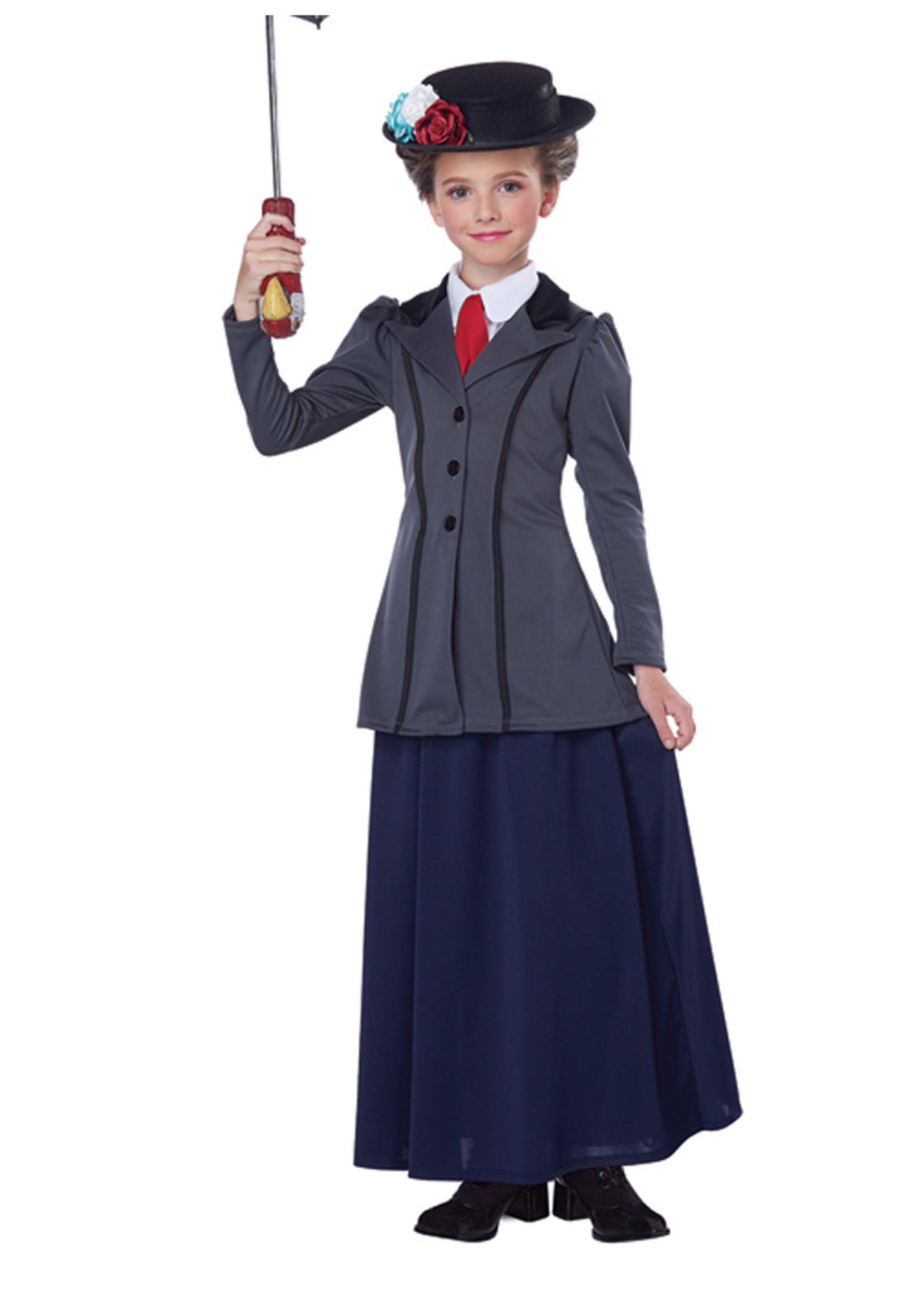 English Nanny Costume - Girls