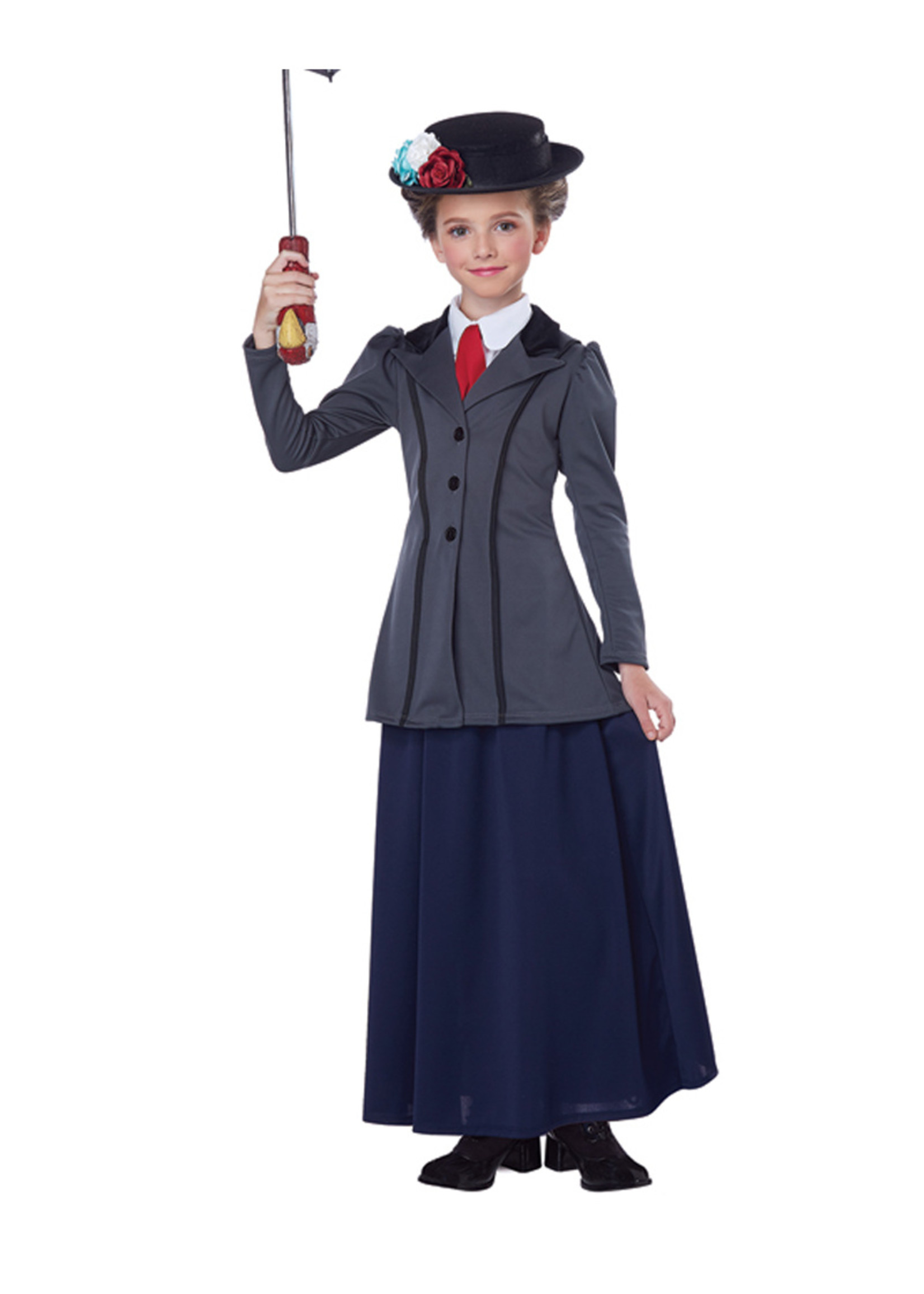 English Nanny Costume - Girls
