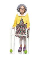 Grannie Costume - Girls