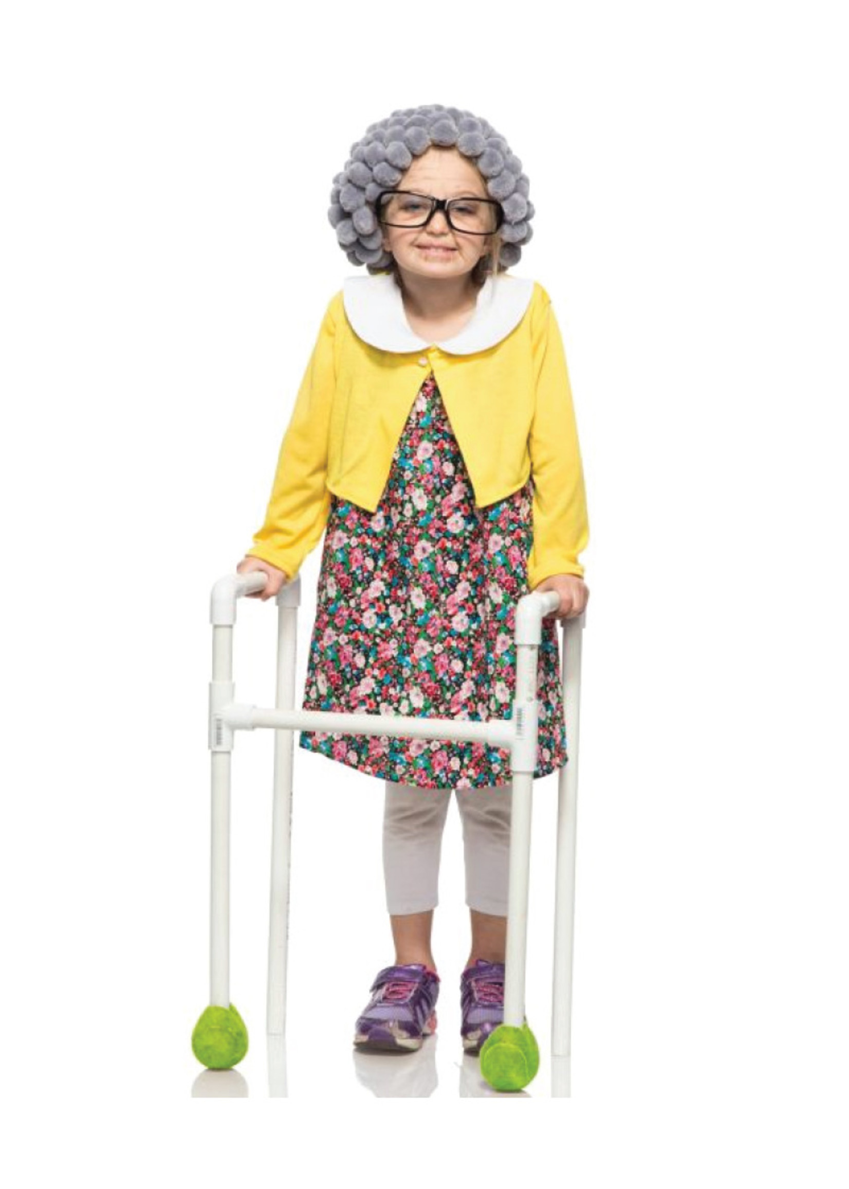 Grannie Costume - Girls