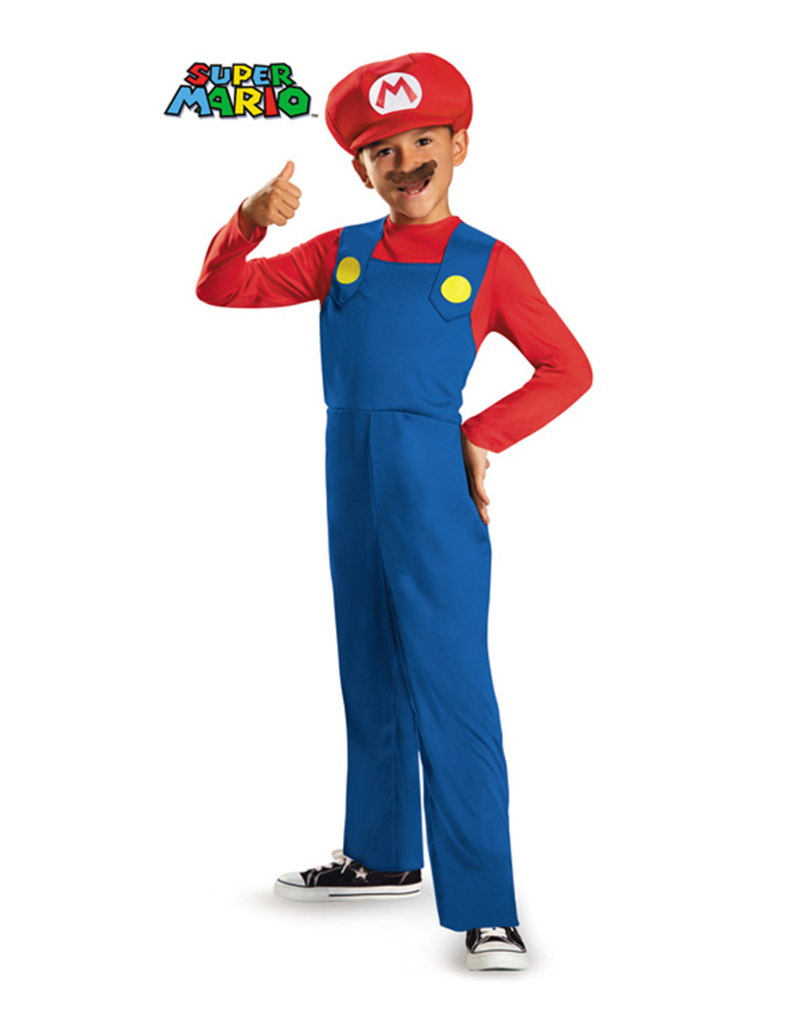 Mario Costume - Boys