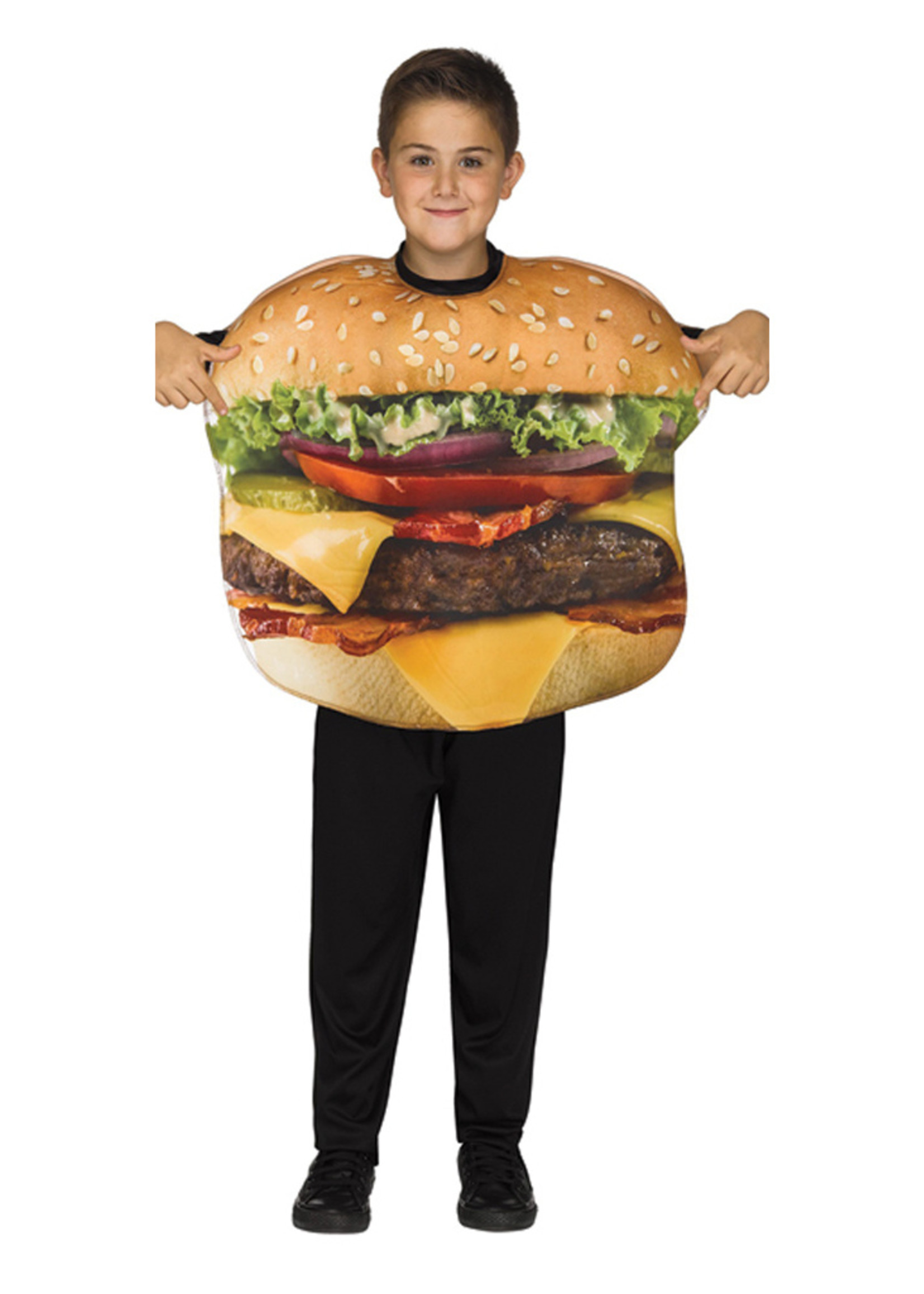 Cheeseburger Costume - Boys