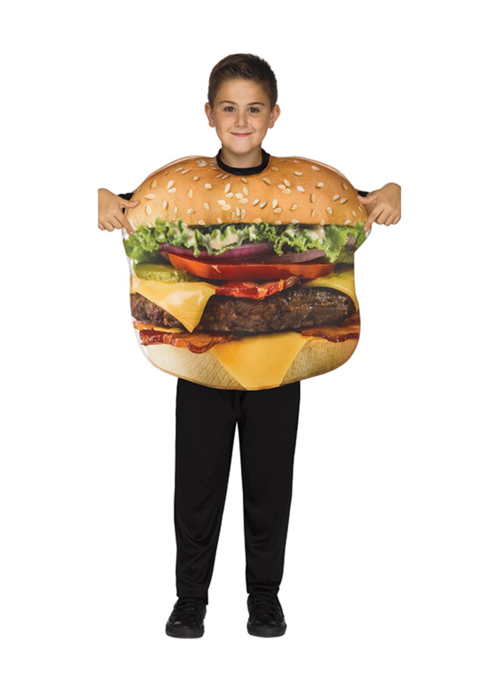 Cheeseburger Costume - Boys