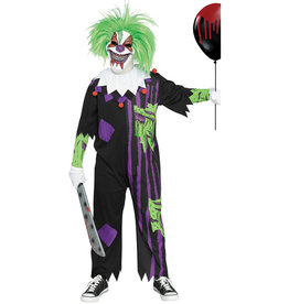 Zombie Clown Costume - Boys